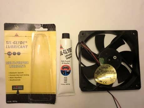 Computer Internal Fan Cleaning 01