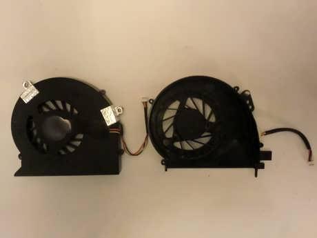 Laptop Internal Fan Back